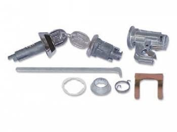 PY Classic Locks - Glove Box & Trunk Lock Set - Image 1