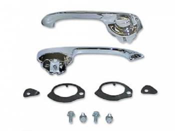 Trim Parts - Front Door Handles
