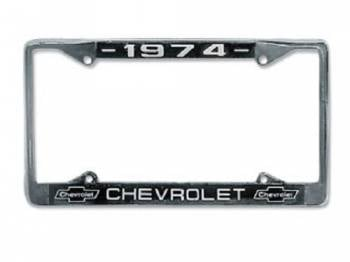 United Pacific - Chevrolet License Plate Frame - Image 1