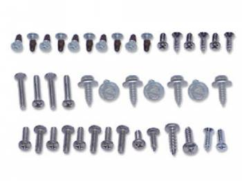 H&H Classic Parts - Exterior Screw Set - Image 1