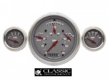 Classic Instruments - Classic Instruments Gauge Kit with Flat Glass (SG Series)
