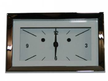 Classic Instruments - Classic Instruments Clock (White Hot Series) - Image 1