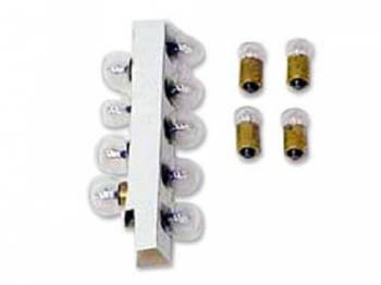 East Coast Reproductions - Dash Bulb Set - Image 1