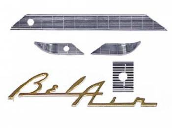 Gene Smith Reproductions - Dash Trim without Radio Cut Outs - Image 1