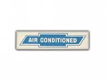 Jim Osborn Reproductions - Air Conditioning Window Decal - Image 1