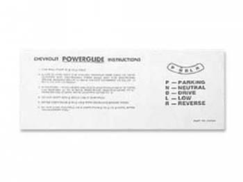 Jim Osborn Reproductions - PowergLide Transmission Sunvisor Sleeve - Image 1