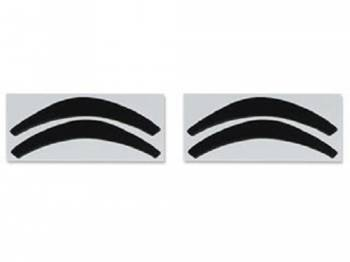 DKM Manufacturing - Headlight Bezel Recoloring Decals - Image 1