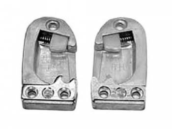 H&H Classic Parts - Door Striker Plates - Image 1