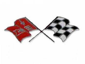 H&H Classic Parts - Fuel Injection Fender Flags - Image 1