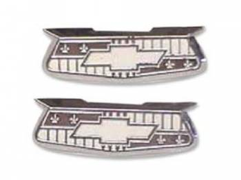 DKM Manufacturing - Quarter Crest Emblems (Custom Chrome) - Image 1