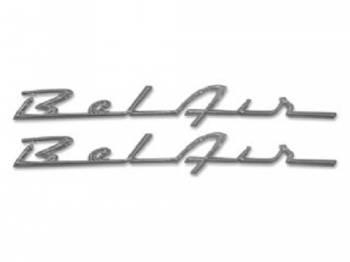 H&H Classic Parts - Belair Script (original Chrome) - Image 1
