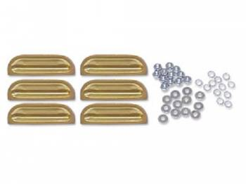 Gene Smith Reproductions - Fender Louvers (Gold)