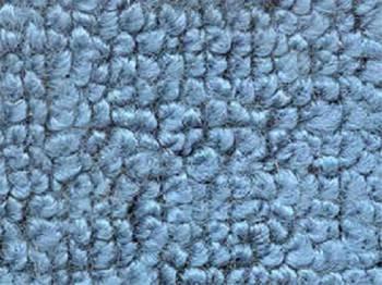 Auto Custom Carpet - Blue 80/20 Cargo Deck Carpet