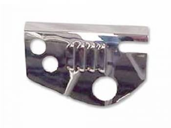 DKM Manufacturing - Chrome Steering Box Cover Louvered - Image 1