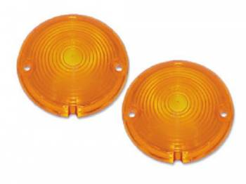 H&H Classic Parts - Parklight Lens Amber - Image 1