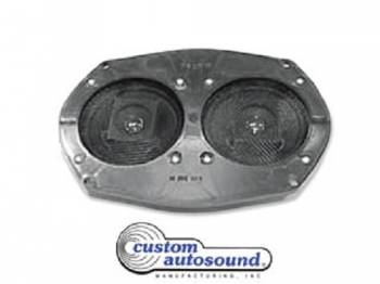 Custom Auto Sound - Dual Radio Speaker - Image 1