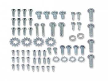 East Coast Reproductions - Vent Window Assembly Screw Set - Image 1