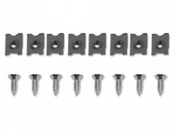 H&H Classic Parts - Headlight Bezel Screw Set - Image 1