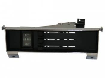 H&H Classic Parts - Heater Control Assembly with Black Face - Image 1