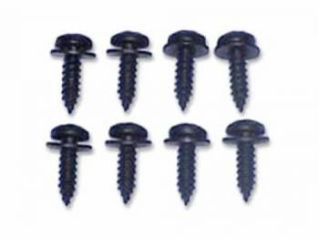 H&H Classic Parts - Hood to Cowl Seal Screw Set - Image 1