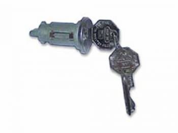 PY Classic Locks - Ignition Key & Tumbler - Image 1