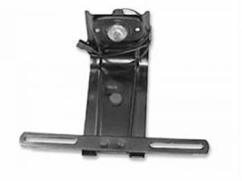 H&H Classic Parts - Rear License Plate Bracket & Lamp - Image 1