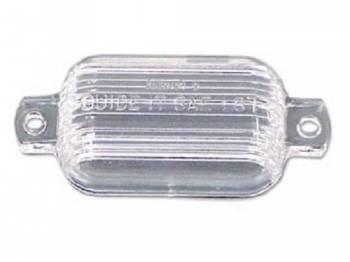 GM (General Motors) - License Light Lens - Image 1