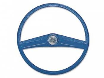 H&H Classic Parts - Steering Wheel Blue - Image 1