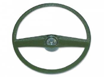 H&H Classic Parts - Steering Wheel Green - Image 1