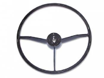 H&H Classic Parts - Steering Wheel Black - Image 1