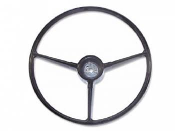 H&H Classic Parts - Steering Wheel Black - Image 1