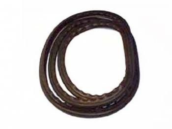 Precision Replacement Parts - Front Windshield Seal without Chrome Slot