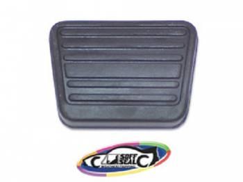 H&H Classic Parts - Brake/Clutch Pedal Pad (Horizontal Ribs) - Image 1