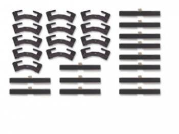 Precision Replacement Parts - Windshield Molding Clip Set - Image 1