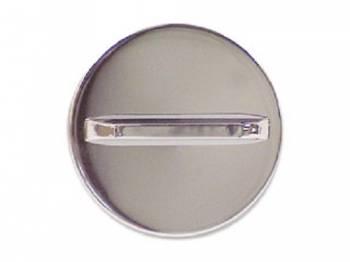 H&H Classic Parts - Chrome Gas Cap - Image 1
