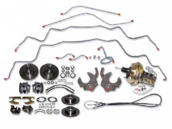 H&H Classic Parts - 4-Wheel Disc Brake Kit - Image 1