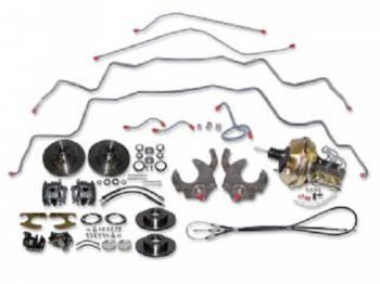 H&H Classic Parts - 4-Wheel Disc Brake Kit