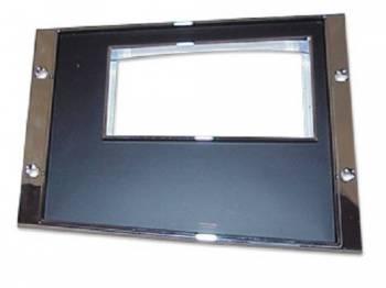 OER (Original Equipment Reproduction) - Console Gauge Std Trans Shift Plate - Image 1