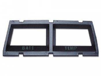 OER (Original Equipment Reproduction) - Console Gauge Bezel (Battery/Temp) - Image 1