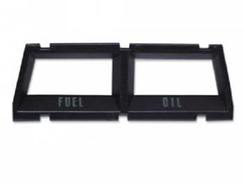 OER (Original Equipment Reproduction) - Console Gauge Bezel (Fuel/Oil) - Image 1