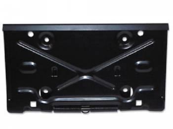 OER (Original Equipment Reproduction) - Rear License Plate Bracket - Image 1