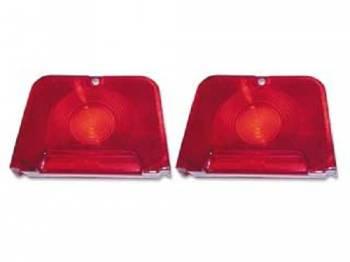 Trim Parts USA - Red Backup Light Lens - Image 1