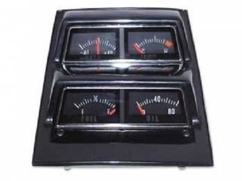 OER (Original Equipment Reproduction) - Console Gauge Assembly - Image 1