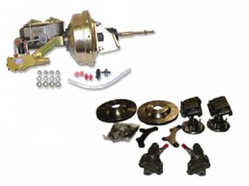 "H&H Classic Parts - Disc Brake Conversion Kit (13"" Cross Drilled Rotors)"