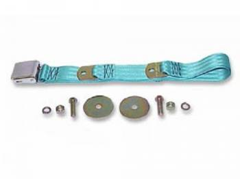 Route 66 Reproductions - Front Seat Belts Turquoise - Image 1