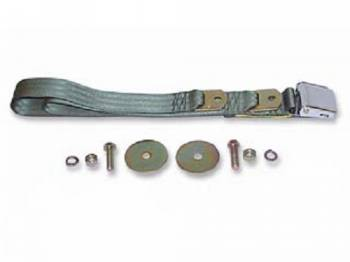 Route 66 Reproductions - Front Seat Belts Green - Image 1
