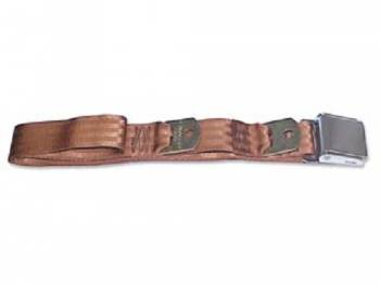Route 66 Reproductions - Rear Seat Belts Brown - Image 1