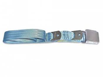 Route 66 Reproductions - Rear Seat Belts Blue - Image 1