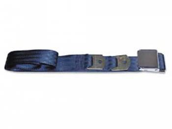 Route 66 Reproductions - Rear Seat Belts Dark Blue - Image 1