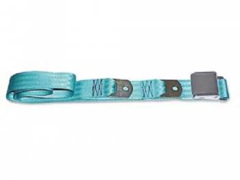 Route 66 Reproductions - Rear Seat Belts Turquoise - Image 1